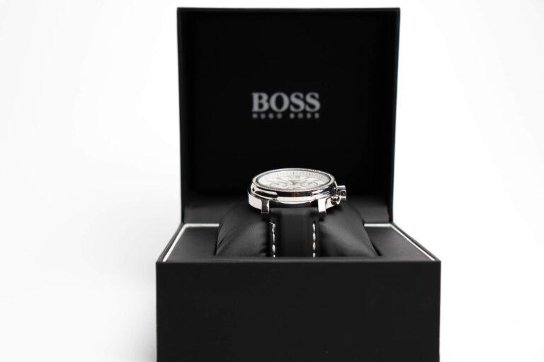 Hugo Boss laikrodžio produkto fotografija
